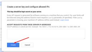 server key